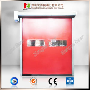 Auto Recovery Rapid Rolling High Speed PVC Door for Buyers (Hz-FC068) pictures & photos