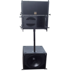 Professional 10 Inch 450W Tw Audio Line Array Speaker for Church pictures & photos