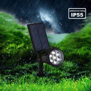 7LED RGB Pathway Solar Light LED Spotlight Outdoor Waterproof Solar Power Spotlight Garden Yard Path Lawn Lamp Landscape Light pictures & photos