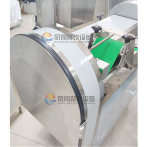 Restaurant Use Root Vegetabel Cutting Slicing Machine/ Carrot Cube Cuttter pictures & photos