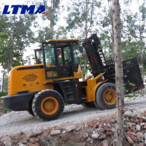 Competitive Price of 10t Maximal Rough Terrain Forklift pictures & photos