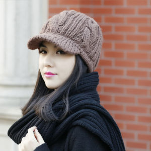 Promotional Winter Knitted Beanie Hats pictures & photos