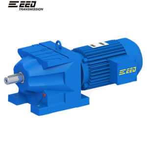 R Helical Gearbox Flange Input pictures & photos