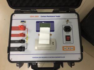 IEC62271 LCD Contact Resistance Tester Micro Ohmmeter pictures & photos