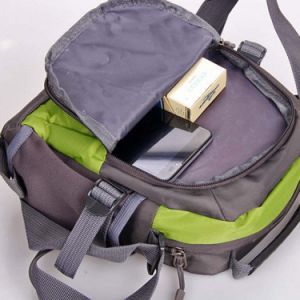 Unisex Zipper Messenger Crossbody Shoulder Bag Casual Travel Bag pictures & photos