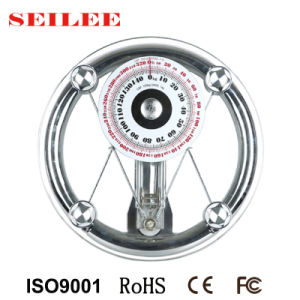 150kg 8mm Round Glass Mechanical Personal Scale Hotel Scale pictures & photos