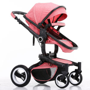 2017 New Design Luxury Fold Baby Pram with European Standard pictures & photos