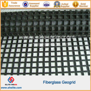 Bitumen Coated Fiberglass Geogrids pictures & photos