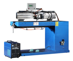 Longitudinal Seam Welding Machine to Weld Tank Cylinder Straight Seam pictures & photos