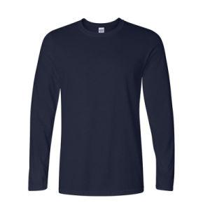 OEM Hot Sale Classic Men T Shirt Long Sleeve O Neck Mens T-Shirt Cotton Tees Tops Mens Brand Tshirt Plus Size Xs- XXL Sweatshirts pictures & photos