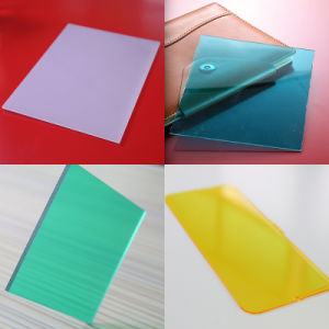 Clear Crystal Polycarbonate Plastic Solid Sheets for Swimming Pool Skylight pictures & photos