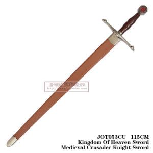 Kingdom of Heaven Swordmedieval Crusader Knight Sword 115cm Jot053cu pictures & photos