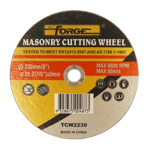 230*3*22.2mm Flat Type Stone Cut off Disc Masonry Cutting-off Wheel pictures & photos