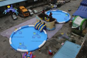Inflatable Moving Water Park for Theme World pictures & photos