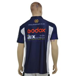 Custom Design Sublimated Dry Fit Polo Shirt pictures & photos