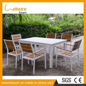 Outdoor Modern Aluminum Hotel/Home Leisure Dining Table And Chair Set Garden  Patio Furniture