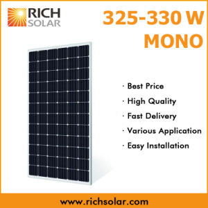 330wp Power Supply Monocrystalline PV Solar Module