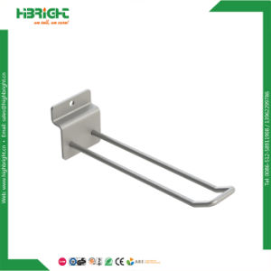 Wire Chrome Retail Slatwall Display Hooks for Supermarket pictures & photos