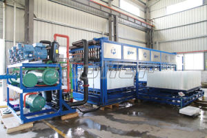 20 Tons/Day Automatic Block Ice Machine Clean Block Ice for Human Consumption Easy to Operate pictures & photos