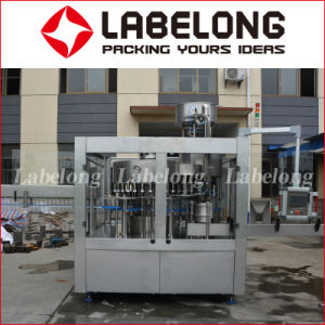 Automatic Glass Bottle Carbonated Sparkling Beverage Water Bottling Filling Machinery pictures & photos