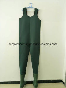 Neoprene Fishing Wader with Boots (HX-FW0010) pictures & photos