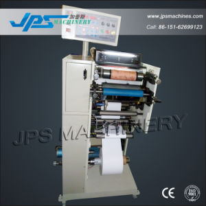 Fully-Automatic One Colour Barcode Label Paper Flexo Press Machine pictures & photos