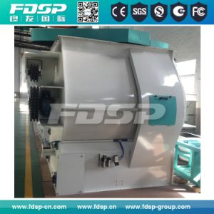 High Homogeneity Twin Shaft Paddle Blender for Feed Pellet Set pictures & photos