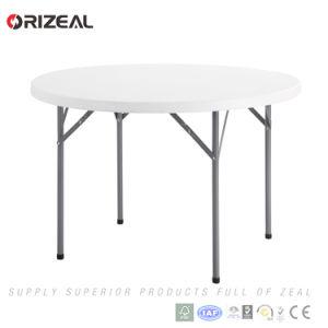 Orizeal 3.8ft White Round Folding Table Oz-T2035 pictures & photos