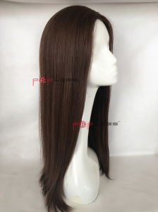 Skin Top High End Women Wig (PPG-l-01087) pictures & photos