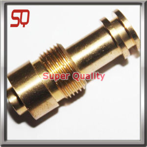 CNC Lathe Turning Part with E-Coating for Motor Parts pictures & photos