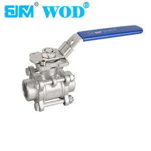 ISO5211 Mounting Pad Weld Ball Valve pictures & photos