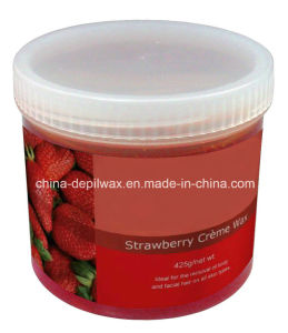 425g Jar Soft Depilatory Wax Strawberry Wax pictures & photos