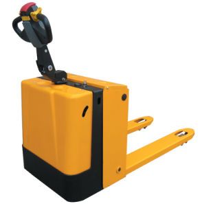 Motorized Electric Powered Pallet Jack 1500kg pictures & photos