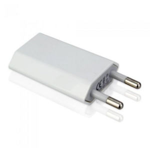White Universal White 5V1a Us/EU Plug USB Power Adapter pictures & photos