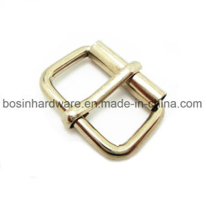 Nickel Finish Metal Roller Slide Ring for Shoes pictures & photos