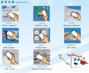 """S"" Shape High Denisity Magic Foam Sponge China Supplier Factory pictures & photos"