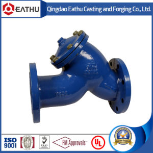 Y Type Strainer with Flange pictures & photos