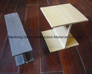 Pultruded Profiles with H-Shape, I-Shape, U-Channel, FRP/GRP Structures. pictures & photos