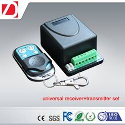 Universal Receiver with 2 Channels Garage Door Radio Transmitter and Receiver Kit pictures & photos