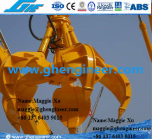 Electro-Hydraulic Orange Peel Grab (MHM) pictures & photos