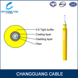 G652D Fiber Aramid Yarn PVC/LSZH Jacket Optic Cable GJFJV