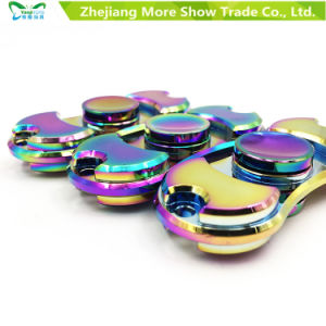 Rainbow Colors Metal Alloy EDC Hand Fidget Spinner High Speed Focus Toy Gift pictures & photos
