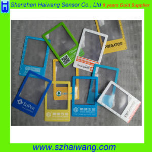 Promotional Gift China Factory Made Credit Card Size PVC Magnifier Lens with Custom Logo pictures & photos