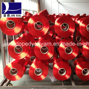 FDY Dope Dyed 100d/36f Polyester Filament Yarn pictures & photos