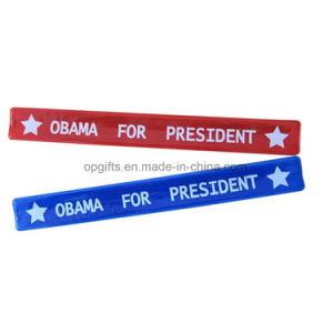 Hot Sale Reflective PVC Slap Bracelet & Slap Wrist Band pictures & photos