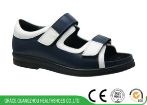 Health Diabetic Shoes Two Colors Casual Wide Shoes pictures & photos