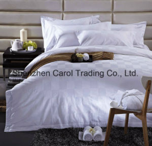 Cotton Luxury Jacquard Smart Pattern Hotel Bed Linen pictures & photos
