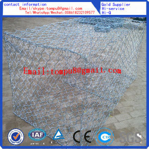 0.4mm Wire Diameter Gabion Mesh/ Box /Wall /Basket pictures & photos