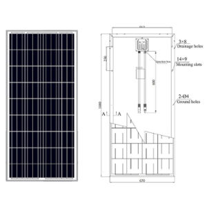 Cheapest 150 Watt PV Solar Panel for Solar System pictures & photos