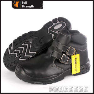 Full Grain Leather Safety Shoes with New PU/Rubber Sole (SN5489) pictures & photos